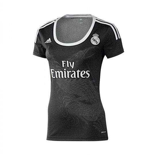 Camisola  adidas Real Madrid 3ª Women 2014-2015 Preto