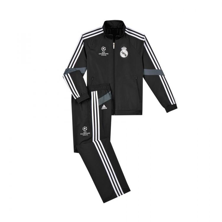 Chándal adidas Real Madrid Tercera Equipación 2014-2015 Negro ... e119e2f66622b