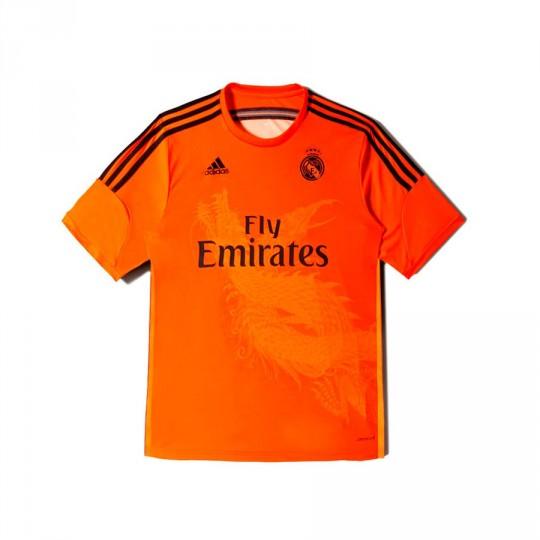 Camisola  adidas Jr Portero Real Madrid 3ª 2014-2015 Preto