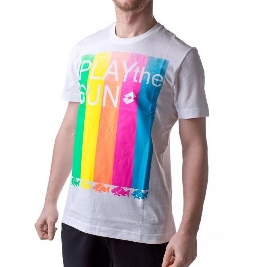 Camiseta  Lotto Ryxan Beach Blanco