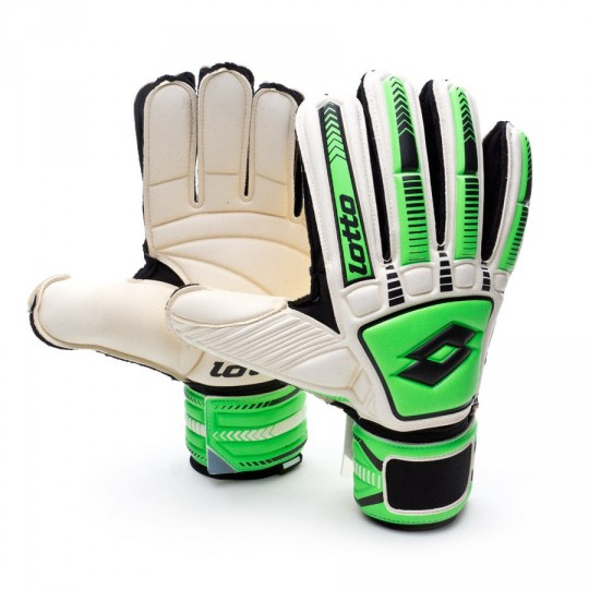Luvas  Lotto Stadio Potenza 100 White-Fluor Mint