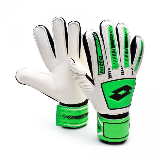 Luvas  Lotto Stadio Potenza 500 White-Fluor Mint