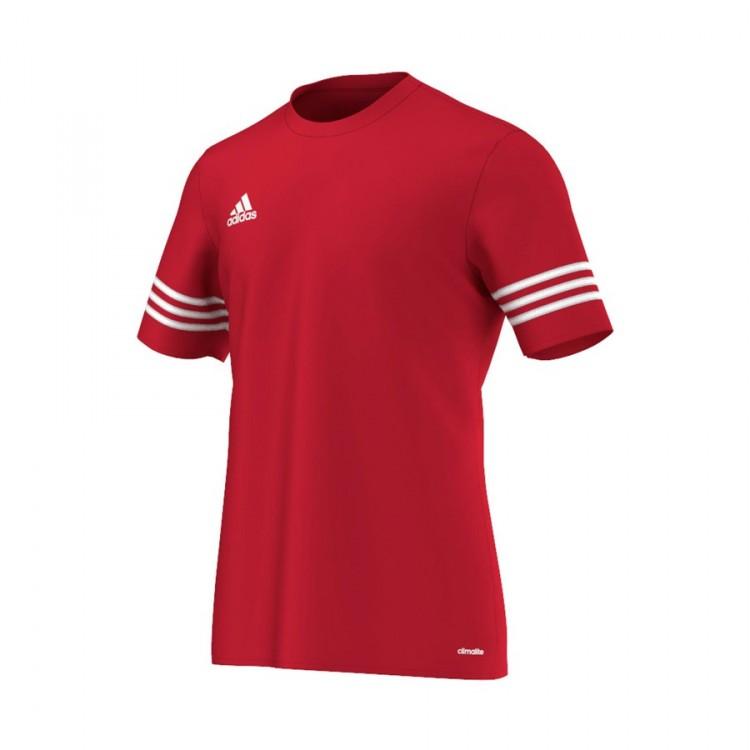dceb0ee8263b2e Jersey adidas Entrada 14 Red-White - Tienda de fútbol Fútbol Emotion