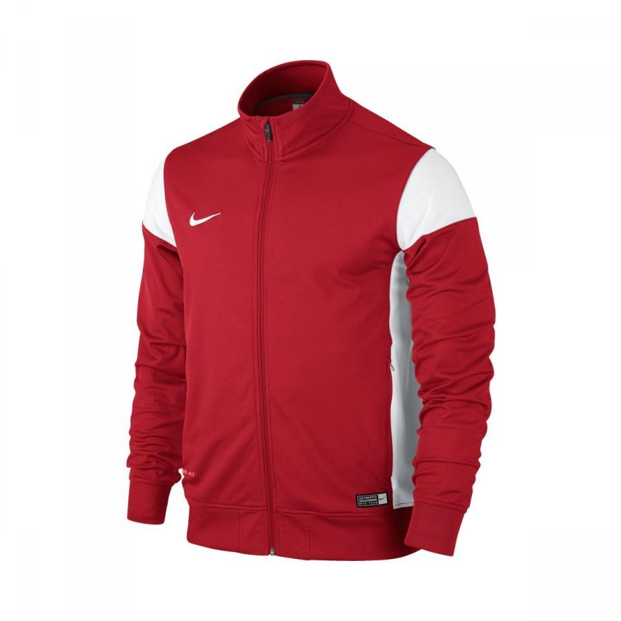 chaqueta nike roja