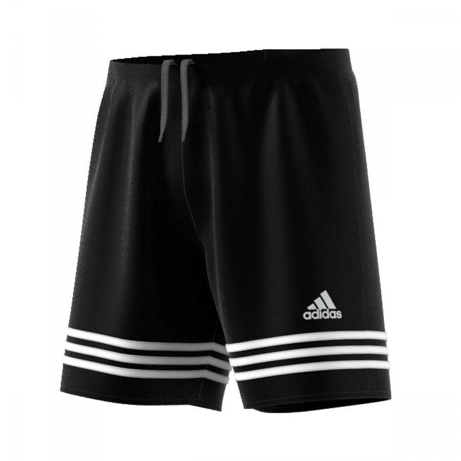3f482294f Pantalón corto adidas Entrada 14 Negro-Blanco - Tienda de fútbol Fútbol  Emotion