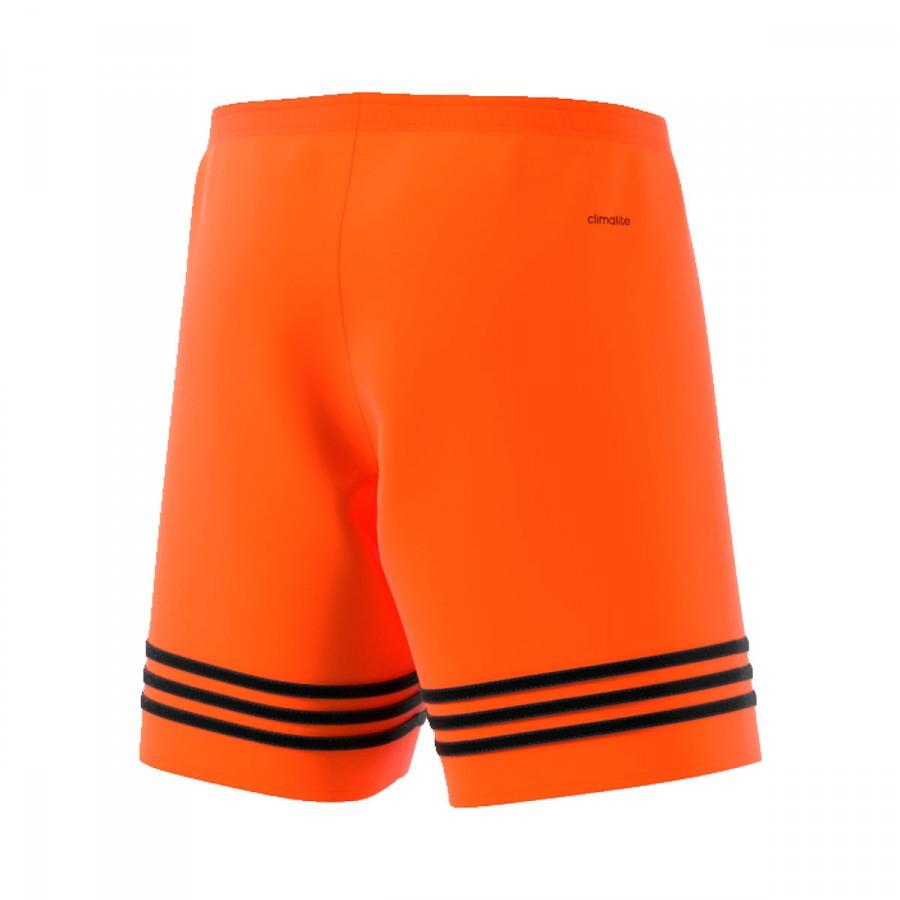 45f9c1040e Short adidas Entrada 14 Naranja-Negro - Tienda de fútbol Fútbol Emotion