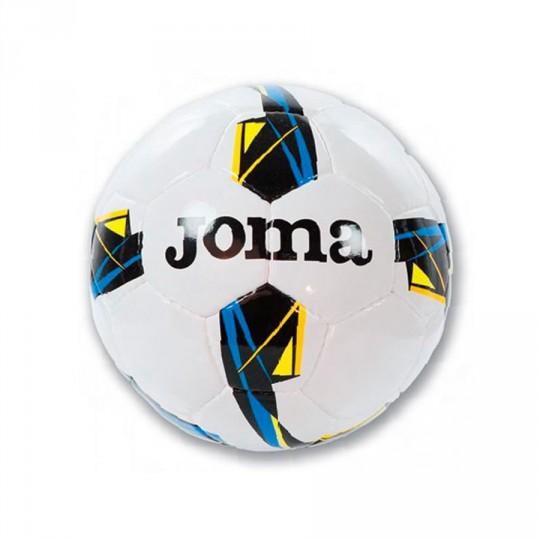 Balón  Joma Game Sala Blanco-Negro-Amarillo