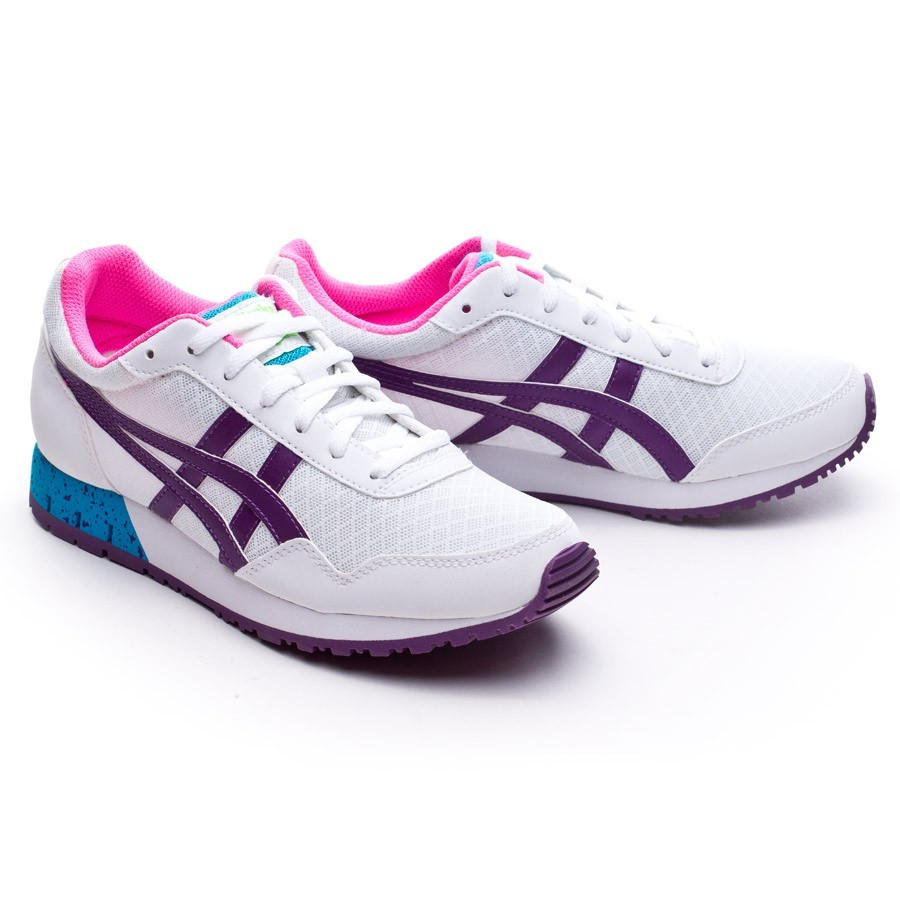 a7f10624b30c Trainers Onitsuka Tiger Curreo Mujer White-Purple - Football store ...