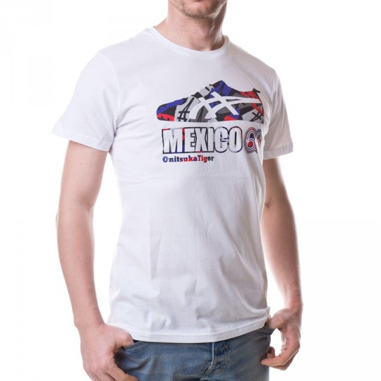 Camiseta  Onitsuka Tiger Mexico 66 Sneaker White