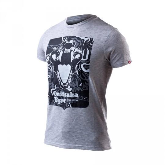 Camiseta  Onitsuka Tiger Fashion Skull Heather grey