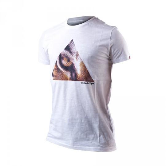 Camiseta  Onitsuka Tiger Fashion Tiger Eye White