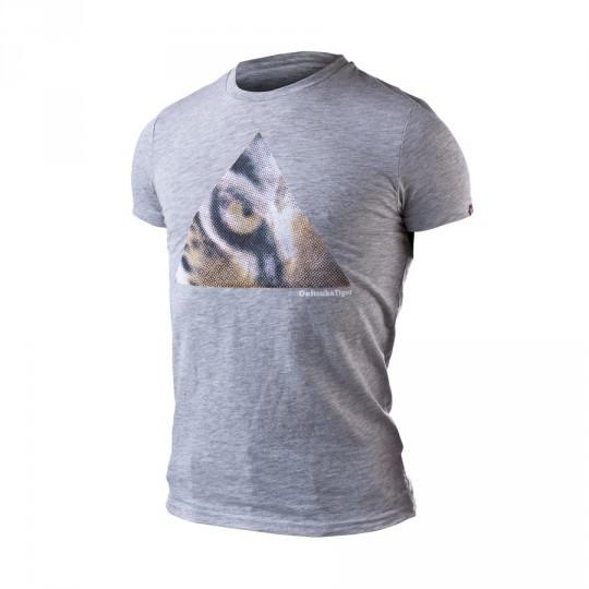 Camiseta  Onitsuka Tiger Fashion Tiger Eye Heather grey