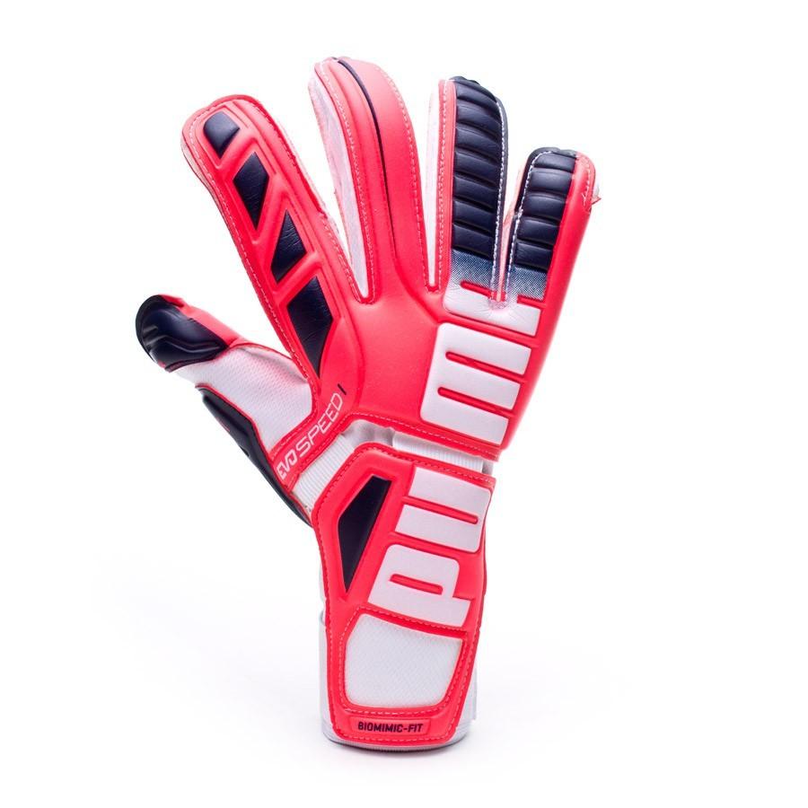 7a59d1827e89 Glove Puma evoSPEED 1.3 Plasma red-Peacoat-White - Tienda de fútbol Fútbol  Emotion