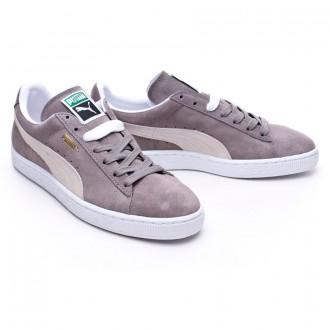 Zapatilla  Puma Suede Classic + Steeple gray-White