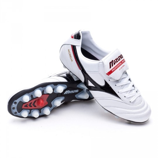 Bota  Mizuno Morelia MD Pearl-Black-Red