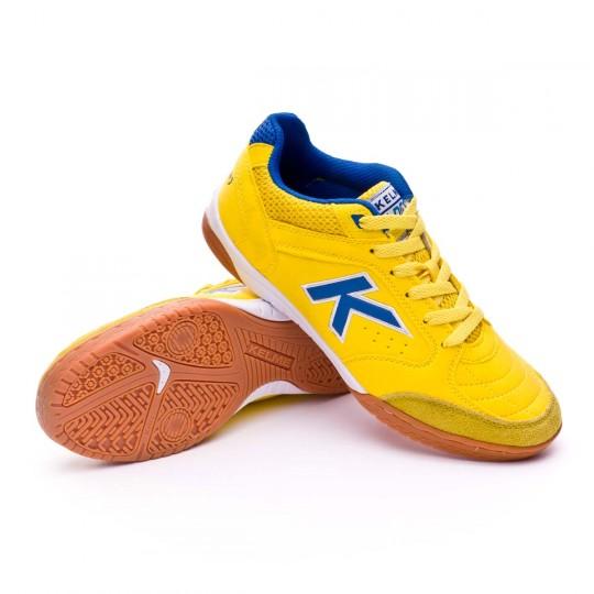 Chaussure de futsal  Kelme Precision Jaune-Royal