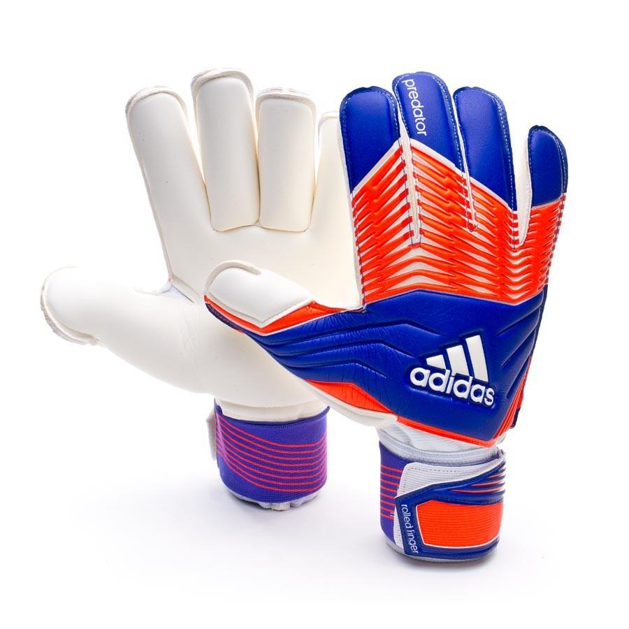 Glove adidas Predator Zones Rollfinger Night flash-Solar red - Football  store Fútbol Emotion f7f823d96