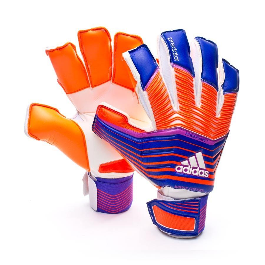 1dcbe6b85cae4 Glove adidas Predator ZONES Ultimate Night Flash-Solar red - Football store  Fútbol Emotion
