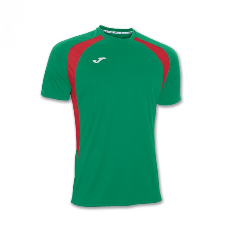 Camiseta Joma Champion III m c Verde-Roja - Soloporteros es ahora ... 3bc6049dcf4be