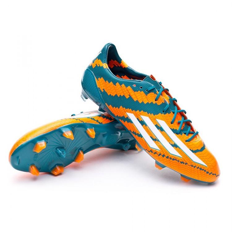 boot adidas messi 10 1 trx fg power teal white solar orange