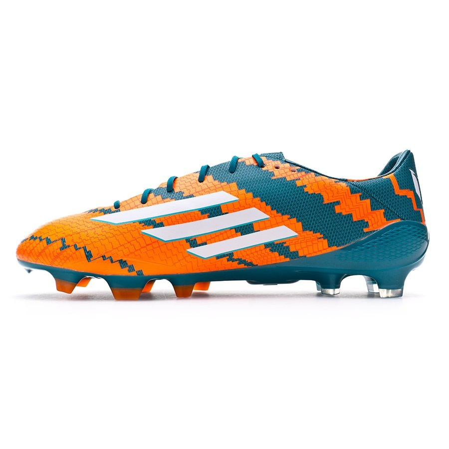 promo code efde3 99d7c Zapatos de fútbol adidas Messi 10.1 TRX FG Power teal-White-Solar orange -  Soloporteros es ahora Fútbol Emotion