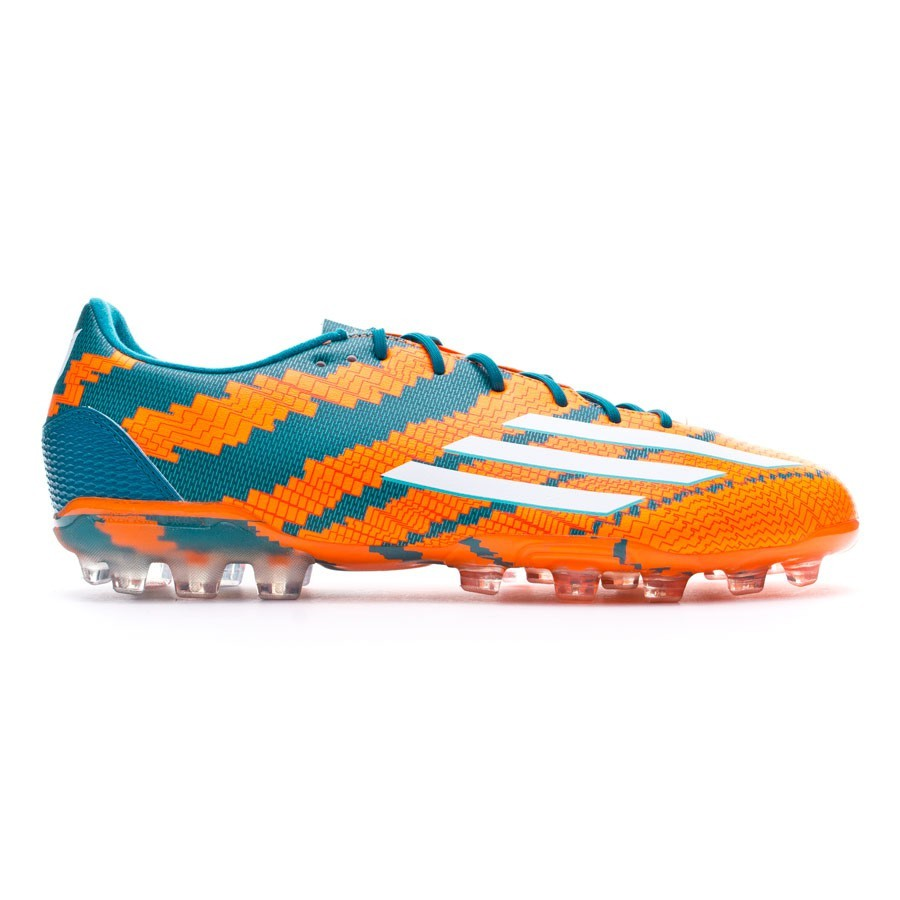 Chuteira adidas Messi 10.2 TRX AG Power teal-White-Solar orange ... bd1656ce4566c