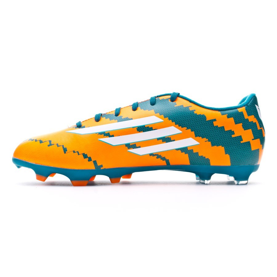 Chuteira adidas Messi 10.3 TRX FG Power teal-White-Solar orange ... c09b0bb7217d2