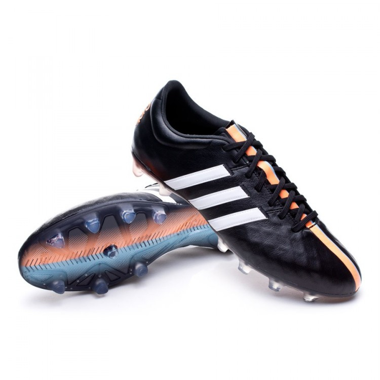 820899645 Football Boots adidas adipure 11Pro TRX FG Black-White-Flash orange ...