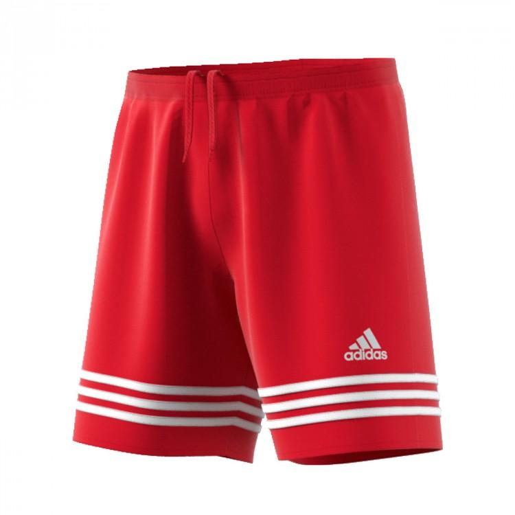 2e91c04f1b200b Shorts adidas Entrada 14 Red-White - Football store Fútbol Emotion