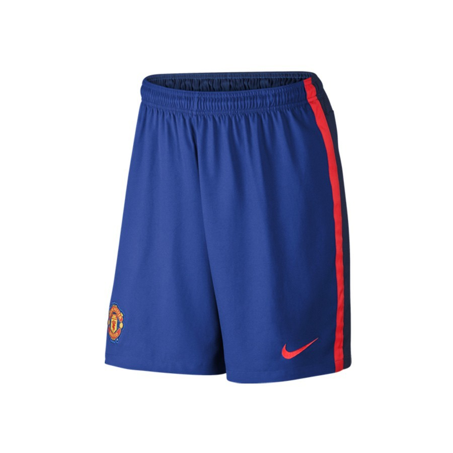 ... Pantalón corto Manchester United Segunda Equipación 2014-2015 Old  royal-Royal blue-Crimson. CATEGORY 1dbb68afd4a39