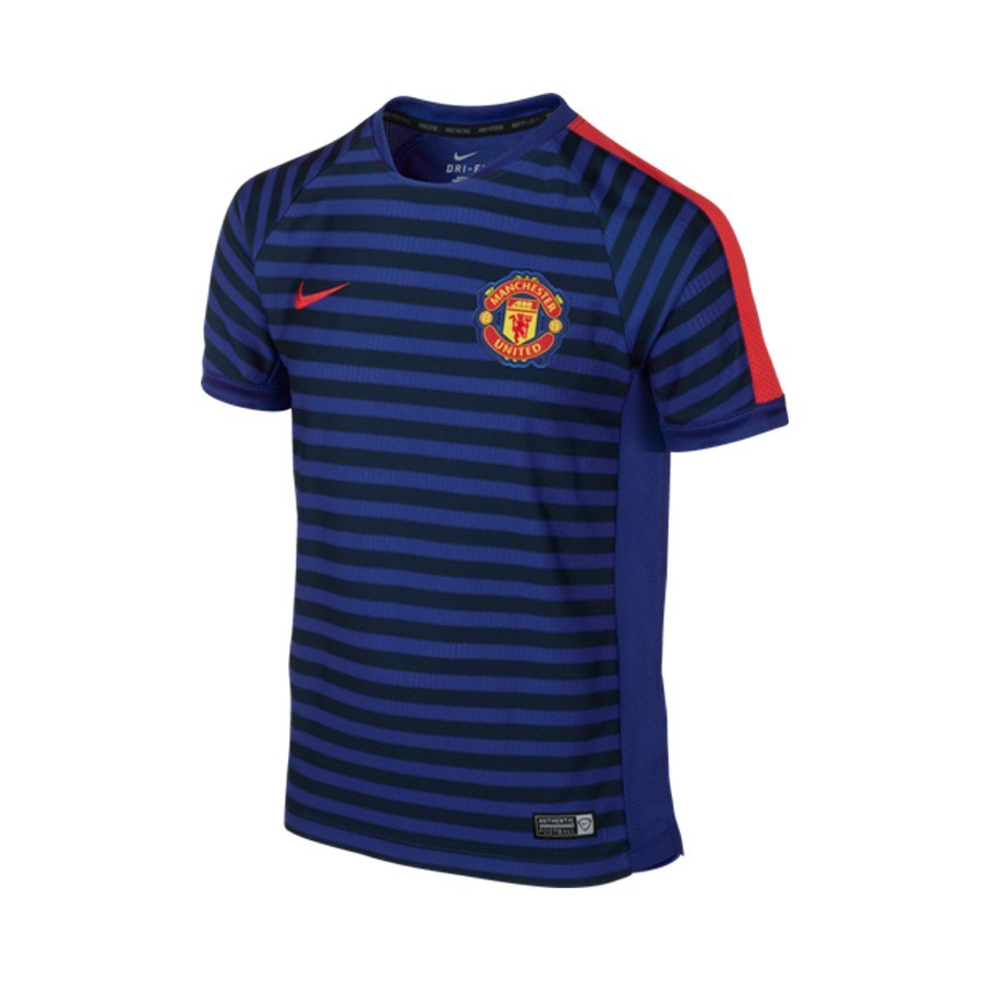 fcd39718e Jersey Nike Jr Manchester United training top 2014-2015 Old royal ...