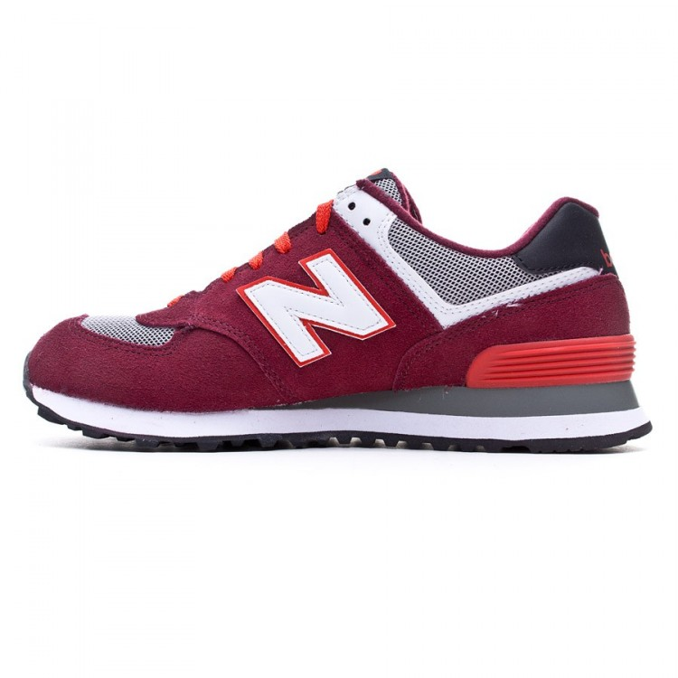 new balance ml574 roja