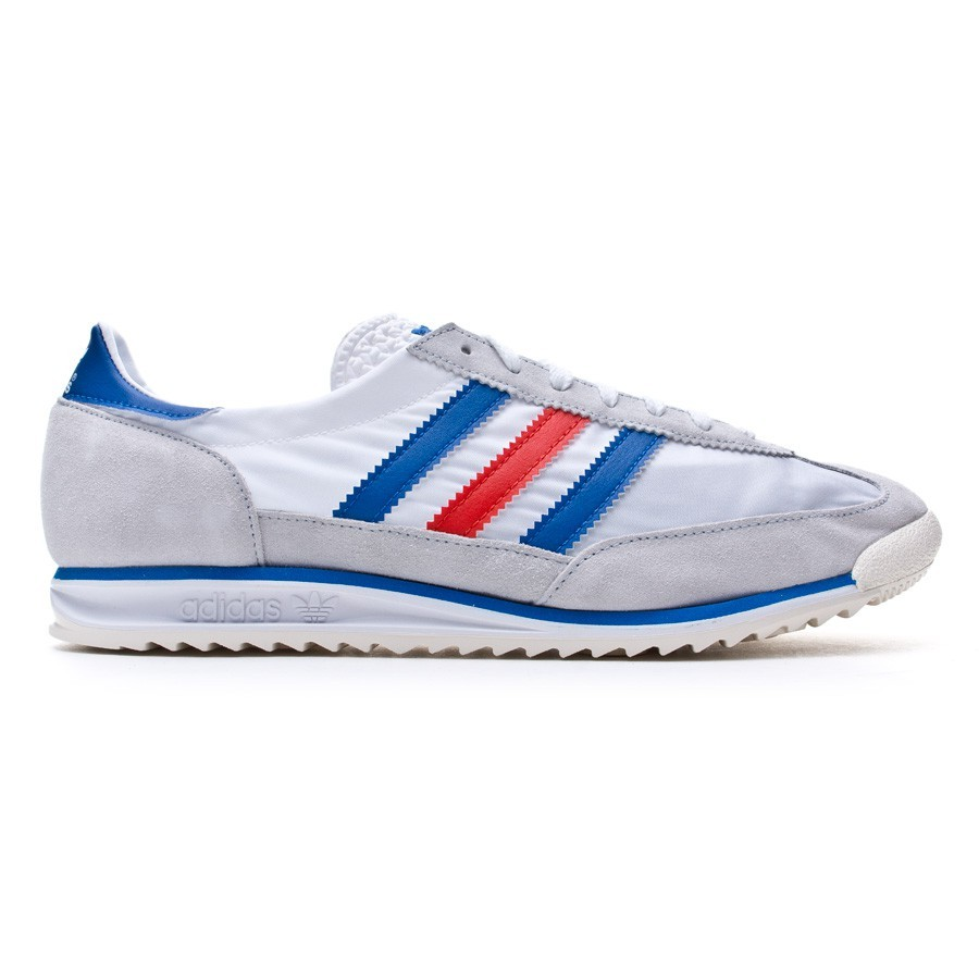 size 40 27ba4 01683 Trainers adidas SL 72 White-Satellite-Poppy - Tienda de fútbol Fútbol  Emotion