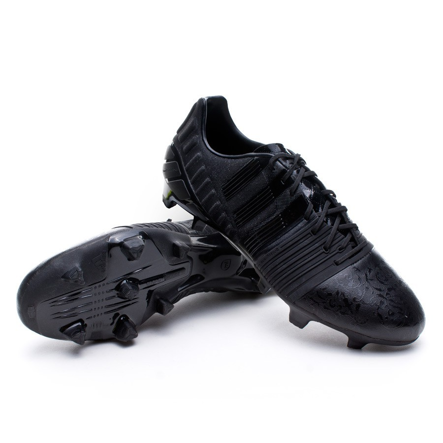 finest selection 5d21f 28c6e adidas Nitrocharge 1.0 TRX FG Black Pack Football Boots