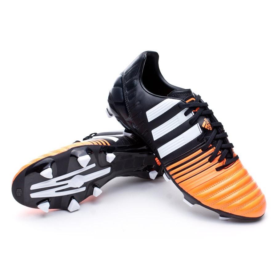buy popular 0dfca 7077e Chaussure de foot adidas Nitrocharge 3.0 TRX FG Black-White-Flash orange -  Boutique de football Fútbol Emotion