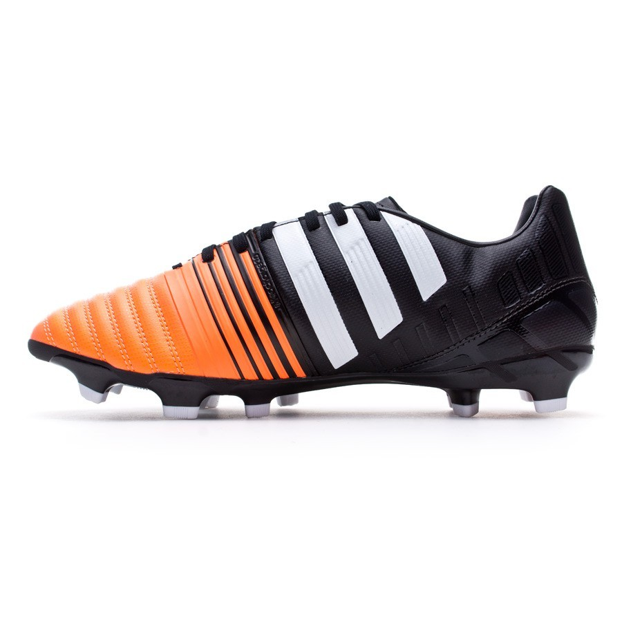 wholesale dealer 002e7 c5677 Football Boots adidas Nitrocharge 3.0 TRX FG Black-White-Flash orange -  Football store Fútbol Emotion