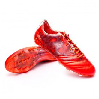 adizero F50 TRX FG Piel Solar red-White-Black