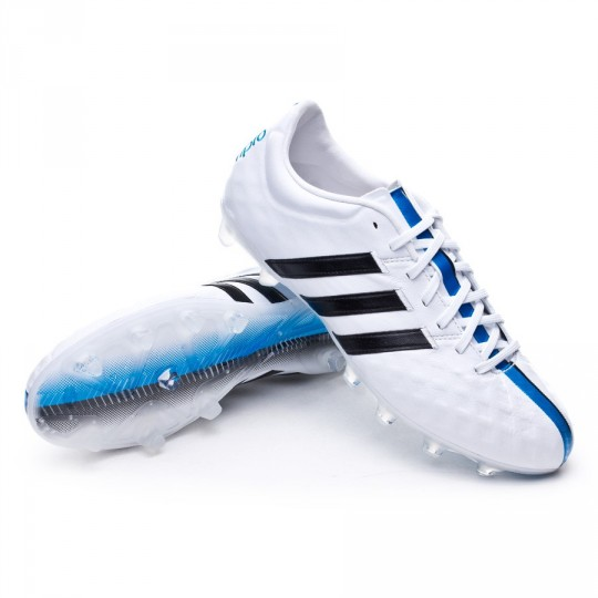 Scarpe adidas adipure 11Pro TRX FG White-Black-Solar blue - Negozio di  calcio Fútbol Emotion 51fbb49f6a37e
