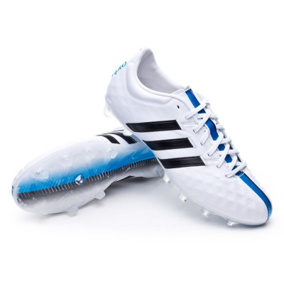 Chaussure de foot adidas adipure 11Pro TRX FG White-Black-Solar ...