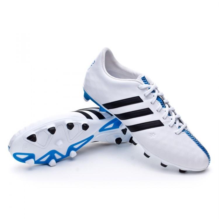 buy popular 374c6 14822 bota-adidas-11nova-trx-fg-white-black-solar-