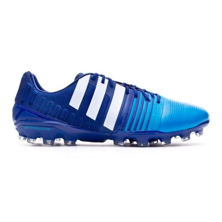 Adidas Ag Nitrocharge 1,0 - Amazon Púrpura / Blanco / Azul Solar