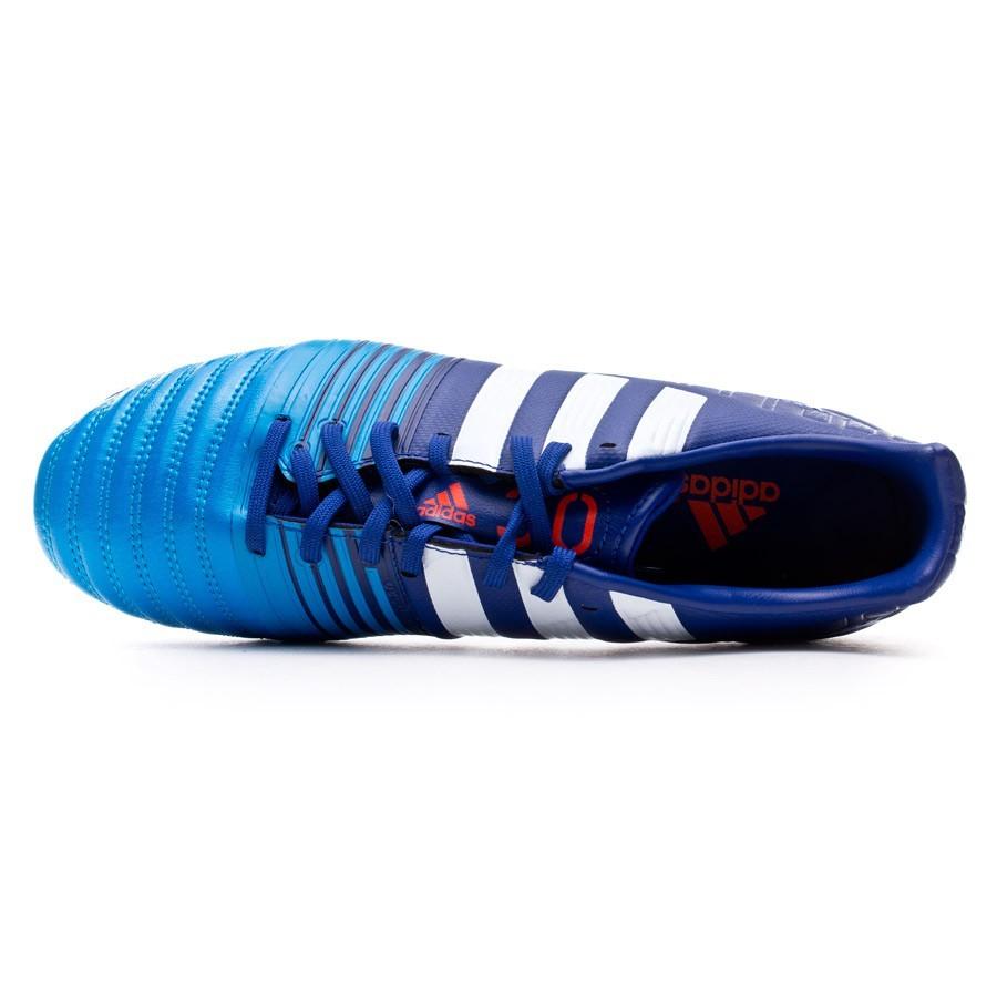 c4e290775604 Football Boots adidas Nitrocharge 3.0 TRX FG Amazon purple-White-Solar blue  - Football store Fútbol Emotion
