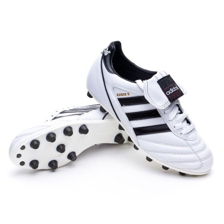 football boots adidas kaiser 5 liga white black black. Black Bedroom Furniture Sets. Home Design Ideas