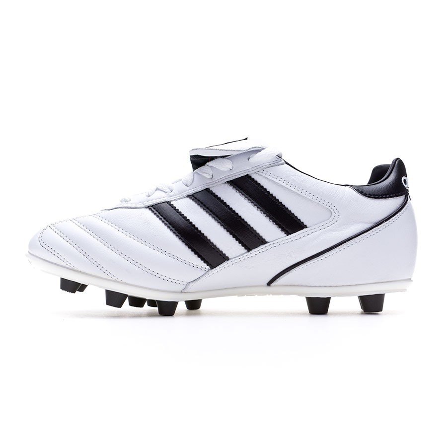 best service fcbcd 40d78 Football Boots adidas Kaiser 5 Liga White-Black-Black - Football store  Fútbol Emotion