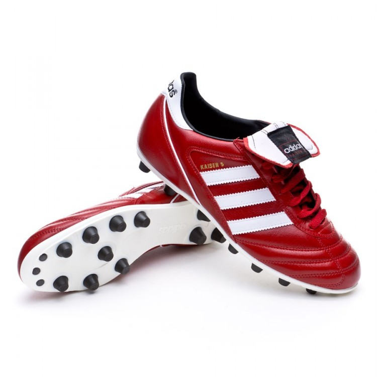 75b1b9a9 Zapatos de fútbol adidas Kaiser 5 Liga Power red-White-Black ...
