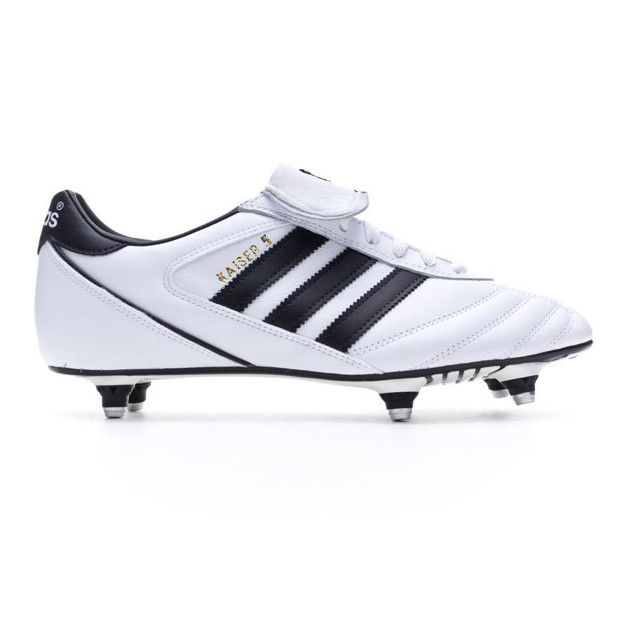 a693602dbce Chuteira adidas Kaiser 5 Cup White-Black-Black - Loja de futebol Fútbol  Emotion