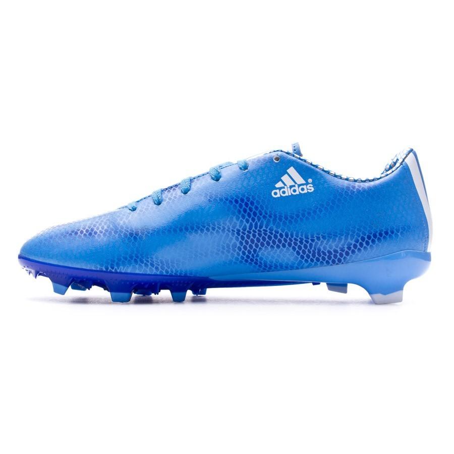 3b770b7f4930 Football Boots adidas F10 TRX FG Women Lucky blue-White-Night flash -  Football store Fútbol Emotion