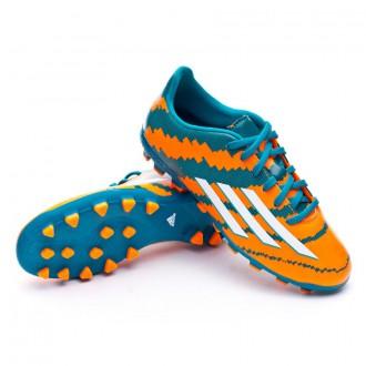 Bota  adidas Messi 10.3 TRX AG Niño Power teal-White-Solar orange