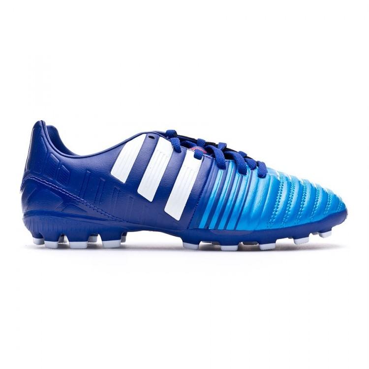 fcb8af126 Boot adidas Jr Nitrocharge 3.0 TRX AG Amazon purple-White-Solar blue ...