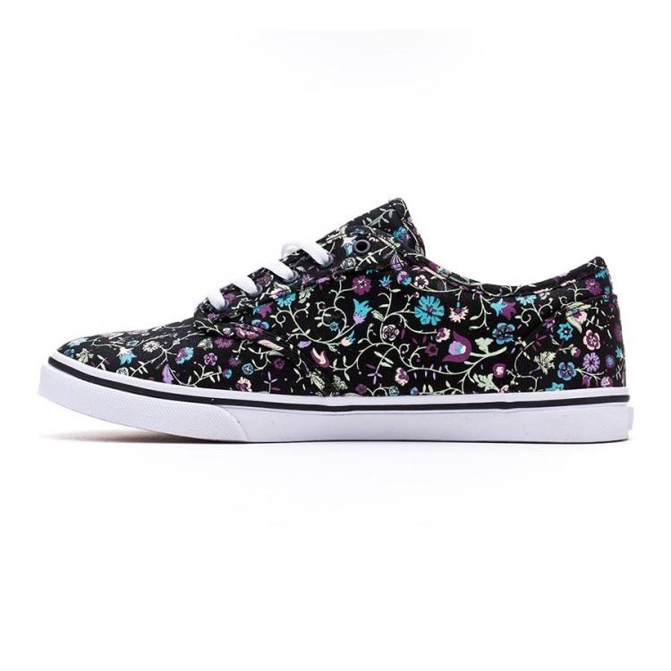 1ee8fc9804 Trainers Vans Atwood Low Mujer Black-Multi floral - Football store ...